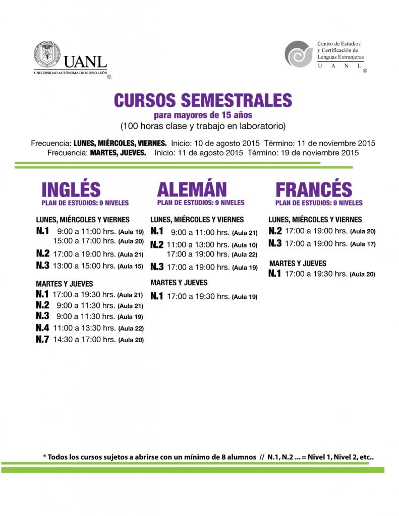 cursos semestrales-AGO2015