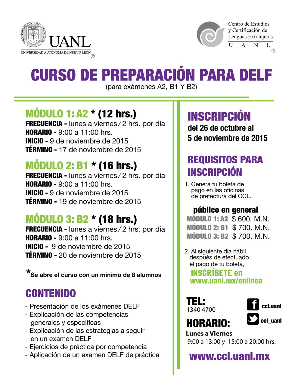 cursos preparacion DELF OCT2015