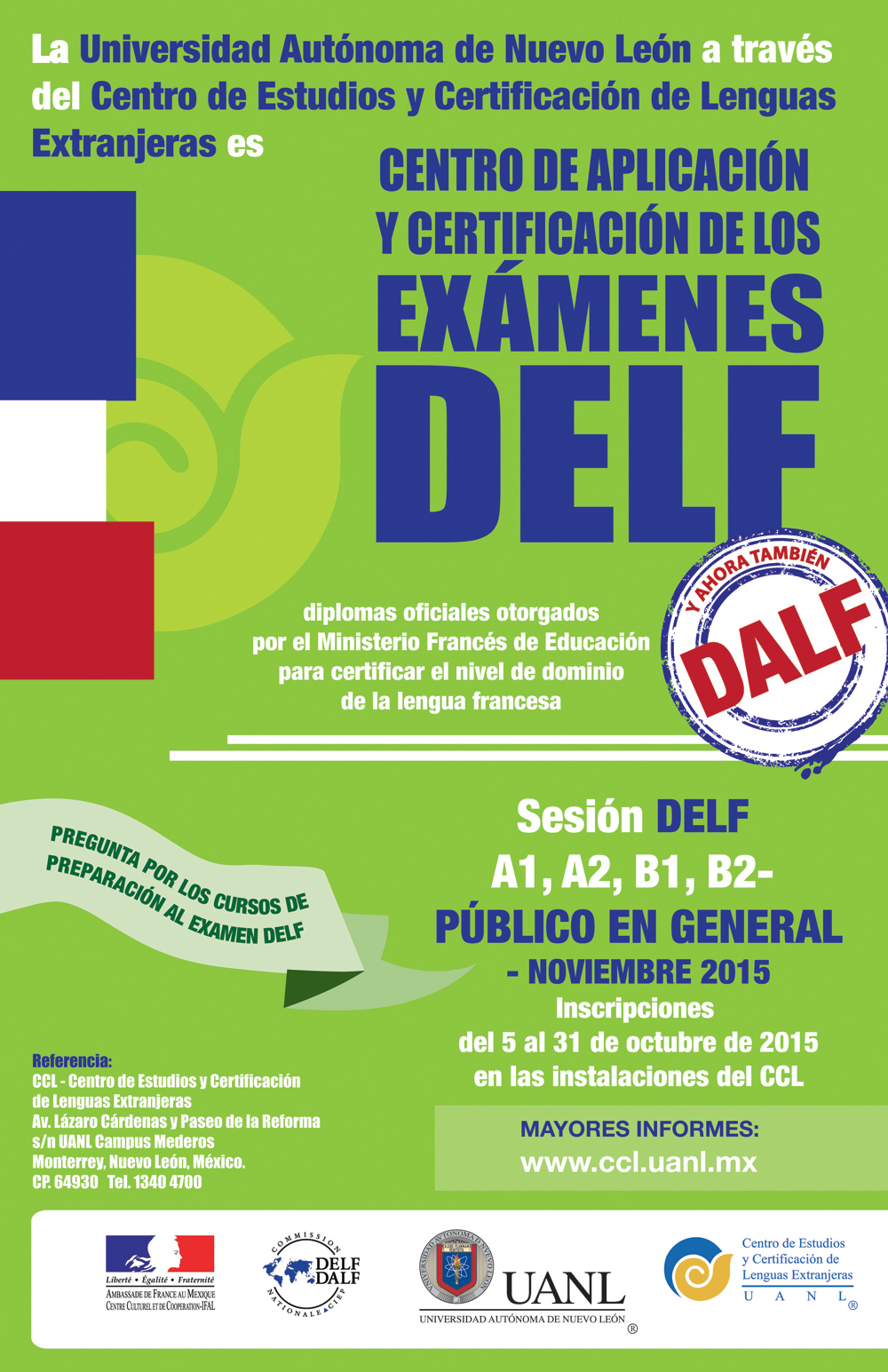 poster DELF octubre2014
