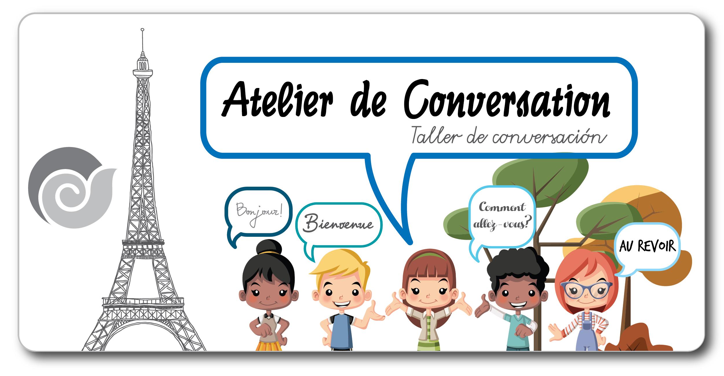 botón conversacion en francés