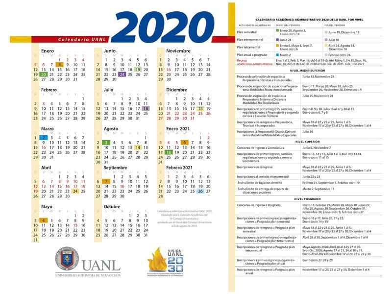 calendario-uanl-2020